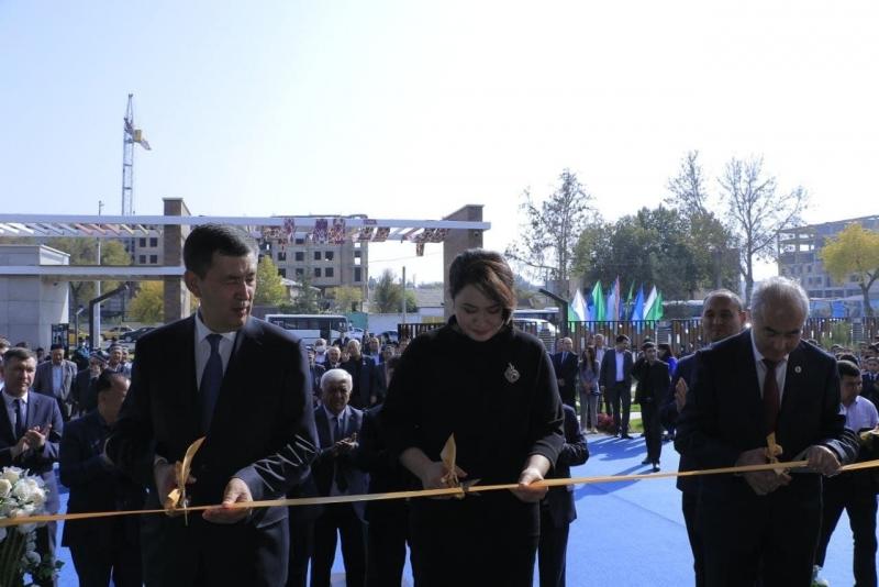 Samarqandda Prezident maktabi foydalanishga topshirildi